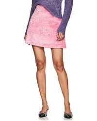 Vivetta - Kollwitz Faux-fur Miniskirt - Lyst