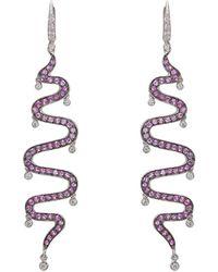 Sharon Khazzam - Shimmee® Swirl Earrings - Lyst