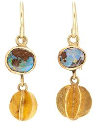 Judy Geib - Whirligig Drop Earrings - Lyst