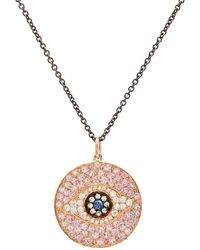 Ileana Makri - Dawn Eye Pendant Necklace - Lyst