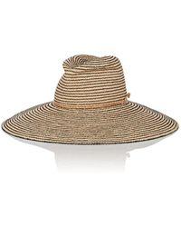 Lola Hats - Jolly Rancher Striped Raffia Sun Hat - Lyst