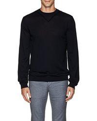 Giorgio Armani - Fine-gauge Knit Wool Jumper - Lyst