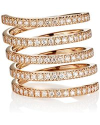 Roberto Marroni - Diamond Spiral Ring - Lyst