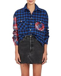 D-ANTIDOTE - Embellished Patchwork Cotton - Lyst
