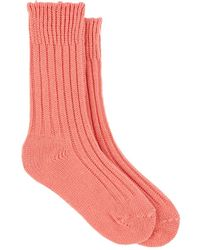The Elder Statesman - Ribbed Cashmere Mid - Lyst