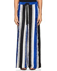 Warm | Provence Striped Silk Trousers | Lyst