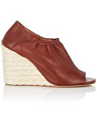Derek Lam - Cosimia Leather Wedge Sandals - Lyst