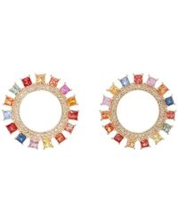 Ileana Makri - Glimmer Sun Stud Earrings - Lyst