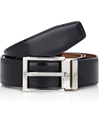 Ferragamo - Leather Reversible Belt - Lyst