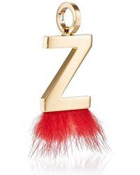 Fendi - Abclick Z Bag Charm - Lyst