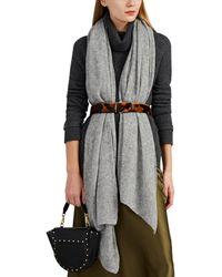 Barneys New York - Open-knit Mélange Cashmere-silk Scarf - Lyst