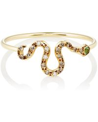 Ileana Makri - Snake Ring - Lyst