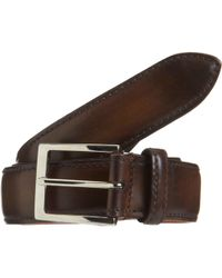 Harris - Burnished Leather Belt - Lyst