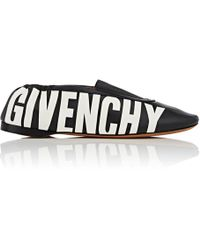 Givenchy - Rivington Leather Slippers - Lyst