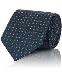 Uman - Medallion-print Silk Necktie - Lyst