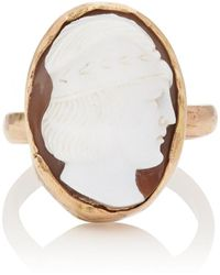 Julie Wolfe - Cameo Ring - Lyst