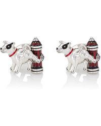Jan Leslie | Dog & Fire Hydrant Cufflinks | Lyst