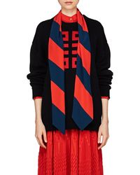 Givenchy - Logo Intarsia-knit Cotton Jumper - Lyst