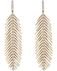 Sidney Garber - Feathers That Move Earrings - Lyst