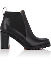 Christian Louboutin - Marcharoche Leather Ankle Boots - Lyst