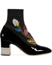 Gucci - Candy Sock Ankle Boots - Lyst