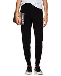 ATM - Metallic-knit Wool-blend Trousers - Lyst