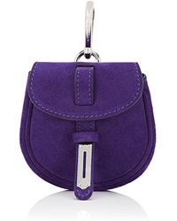 Fontana Milano 1915 Mimosa Mini Leather Pouch Bag Charm