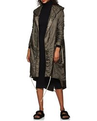 Rick Owens Drkshdw - Ripstop Insulated Hooded Parka - Lyst