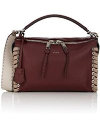 Fendi - Lei Selleria Leather Bag - Lyst