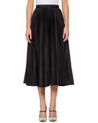 Prada | Pleated Tech-fabric Midi | Lyst