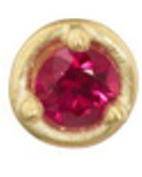 Tate - Ruby Stud Earring - Lyst