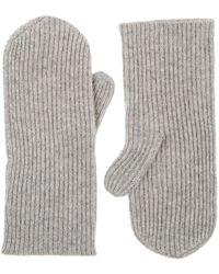 Isabel Marant - Chiraz Rib-knit Cashmere Mittens - Lyst