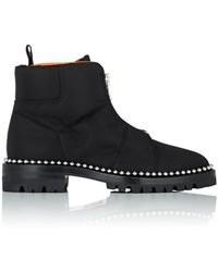 Alexander Wang - Cooper Nylon Ankle Boots - Lyst