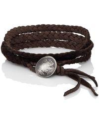 Feathered Soul - #indiana Wrap Bracelet - Lyst