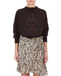 Étoile Isabel Marant - Odilion Cotton-blend Fleece Sweatshirt - Lyst