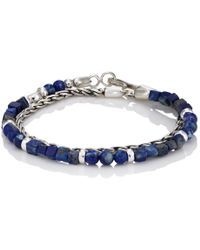 Caputo & Co. - Lapis Lazuli & Sterling Silver Double - Lyst