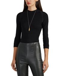 Narciso Rodriguez - Compact-knit Sweater - Lyst