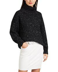 IRO - Yilivi Mélange Wool-blend Sweater - Lyst