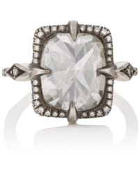 Cathy Waterman - Mysterious Lake Diamond Ring - Lyst