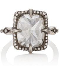 Cathy Waterman - Mysterious Lake Diamond Ring - Lyst