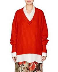 By. Bonnie Young | Varsity Cashmere Sweater | Lyst
