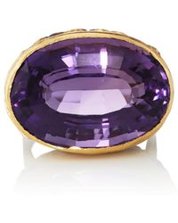 Judy Geib - Amethyst Ring Size 6.5 - Lyst
