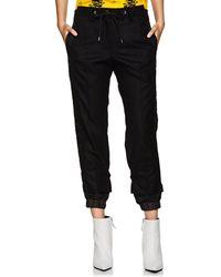 Sacai - Nylon-paneled Wool Trousers - Lyst