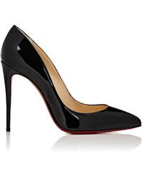 Christian Louboutin - Pigalle Follies Patent Leather Pumps - Lyst