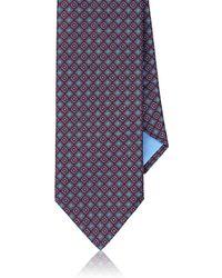 Brioni - Medallion-print Silk Necktie - Lyst