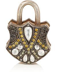 Sevan Biçakci - Shield Padlock Pendant - Lyst