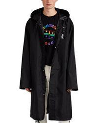 Vetements Bar-code-print Oversized Long Raincoat