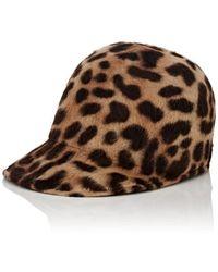 Borsalino - Mélusine Leopard-print Fur - Lyst