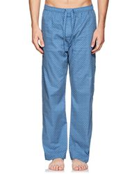 Derek Rose - Nelson Arrow-print Cotton Poplin Pajama Pants - Lyst