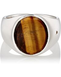 Tom Wood - Oval Signet Ring - Lyst